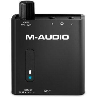 Harga M-Audio Bass Traveler Portable 2-Channel Headphone Amplifier