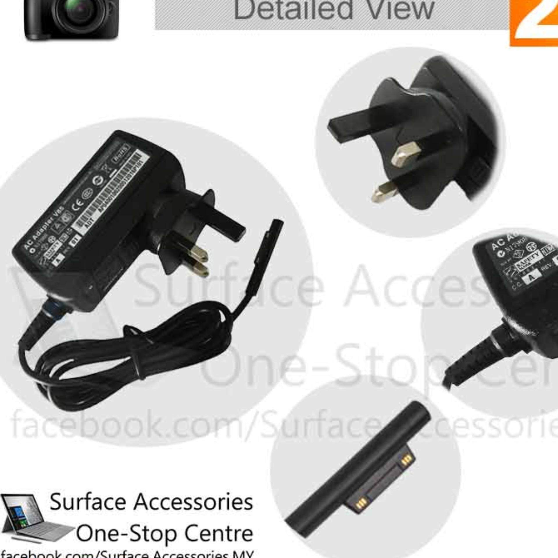 [MALAYSIA] Surface Pro 4 Core M3 24W Charger with Original Charger Cable LED Charger Microsoft Surface Pro 4 Core M3 Charger with Official and Original Microsoft Charging Cable with LED Indicator Replacement Model 1735 Model 1736 [ASSEMBLED IN MALAYSIA]