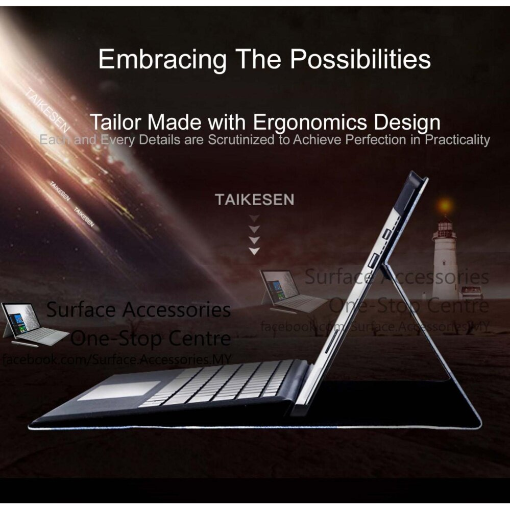[MALAYSIA]New Microsoft Surface Pro Casing Surface Pro 5 Cover Ultimate Case Stand Flip Case