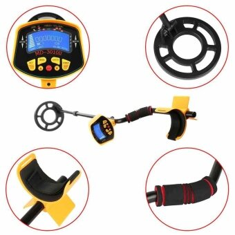 Harga MD3010 II Metal Detector Waterproof LCD Display Underground MetalSensor Machine