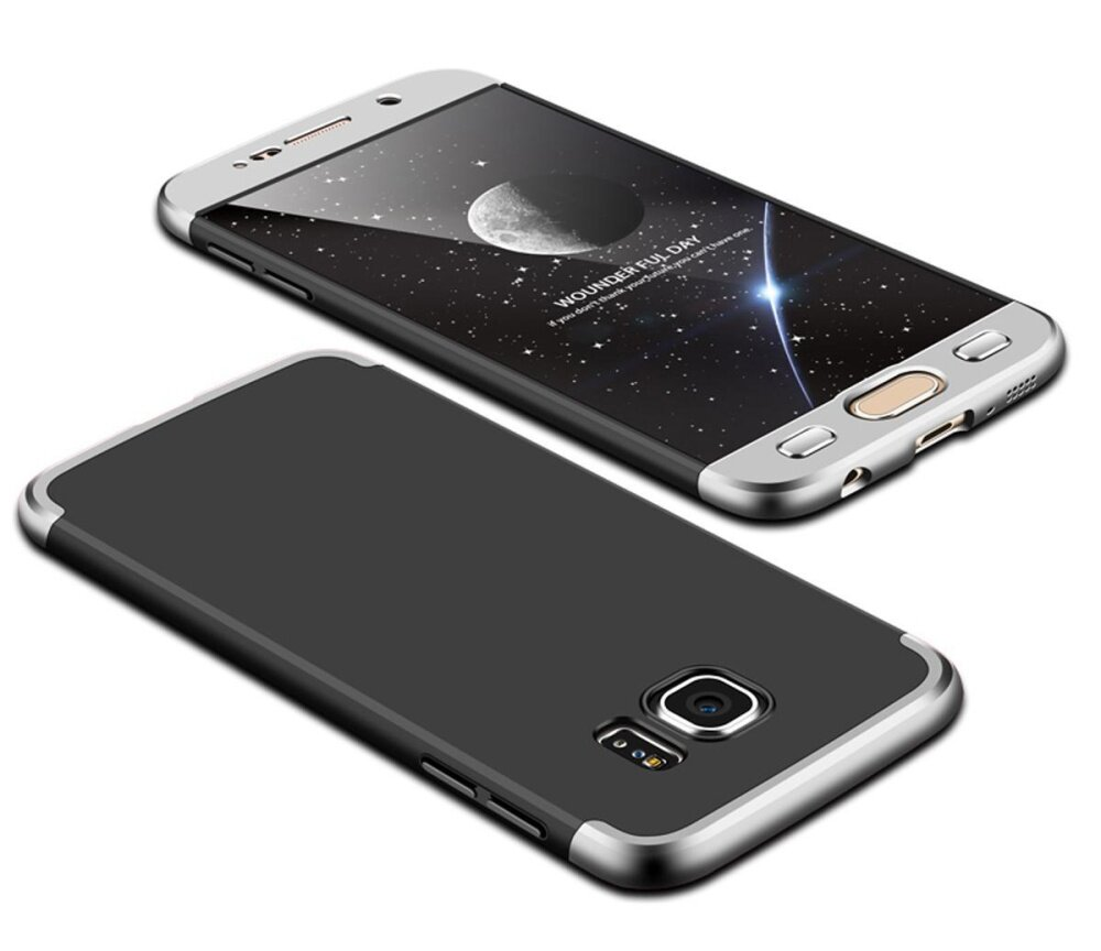Meishengkai Case For Samsung Galaxy S6 Edge Full-Body Case Shockproof Soft TPU Matte Finish