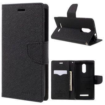 MERCURY Goospery Wallet Leather Case for Xiaomi Redmi Note 3 (Black)