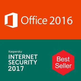 Harga Microsoft Office 2016 with Kaspersky internet security