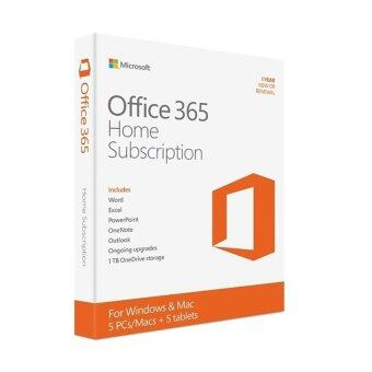 microsoft office 365 home 5 users for pcsmacs tablets phones