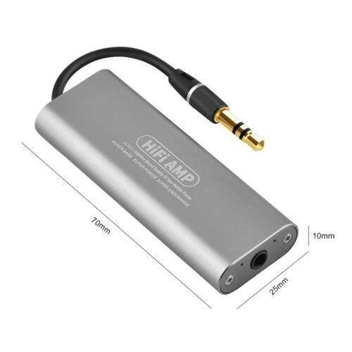 Image Detail Mini 3 5mm Headphone Earphone Amplifier HiFi Stereo Audio AMP for Cellphone intl Full