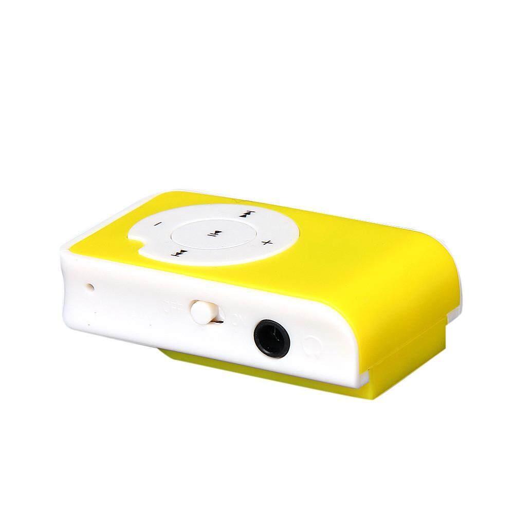 Mini Clip Metal USB MP3 Player Support Micro SD TF Card Music Media YE .