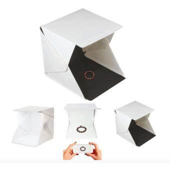 Mini Folding Photo Studio Shooting Tent with LED Photography Studio Tent Light Room - 5