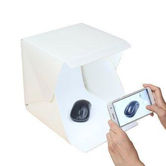 Mini LED Portable Lightbox Studio - Take Pictures Like a Pro on the Go with a Smartphone or DSLR Camera