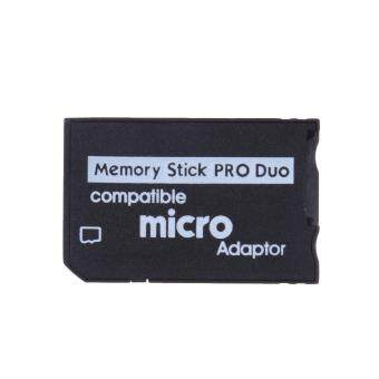 Harga Mini Memory Stick Pro Duo Card Reader Micro SD TF to MS CardAdapter