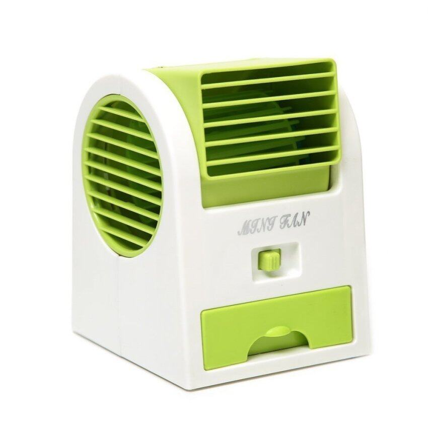 Mini Usb Penggemar Scented Udara Cooler Hijau-Internasional