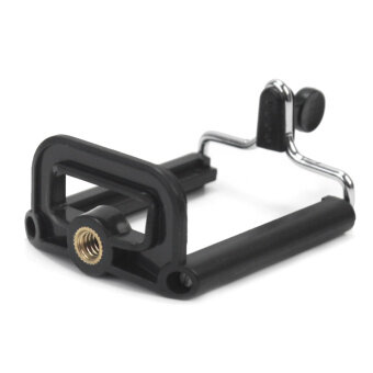 Harga Mobiles Tablets Selfie Sticks Black Camera Stand Clip BracketHolder Tripod Mount Adapter For Mobile Phones