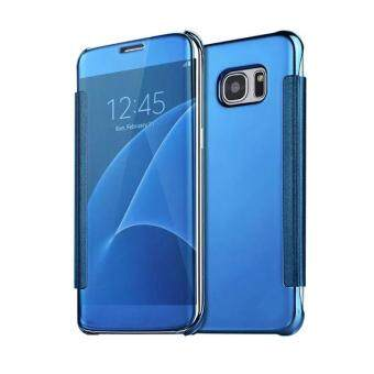 Mooncase Case For Samsung Galaxy S6 Edge Plus Flip Specular Mirror Protective Cover Case with Smart