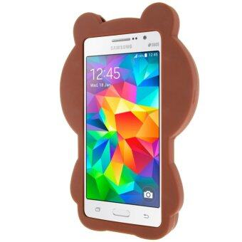 Moonmini 3D Lovely Bear Soft Silicone Back Case for Samsung GalaxyGrand Prime G530 .
