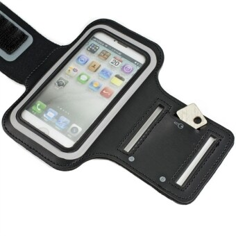 Moonmini Case for iPhone 5 Mobile Smartphone Black WaterResistant Sport Gym Jogging Exercise .