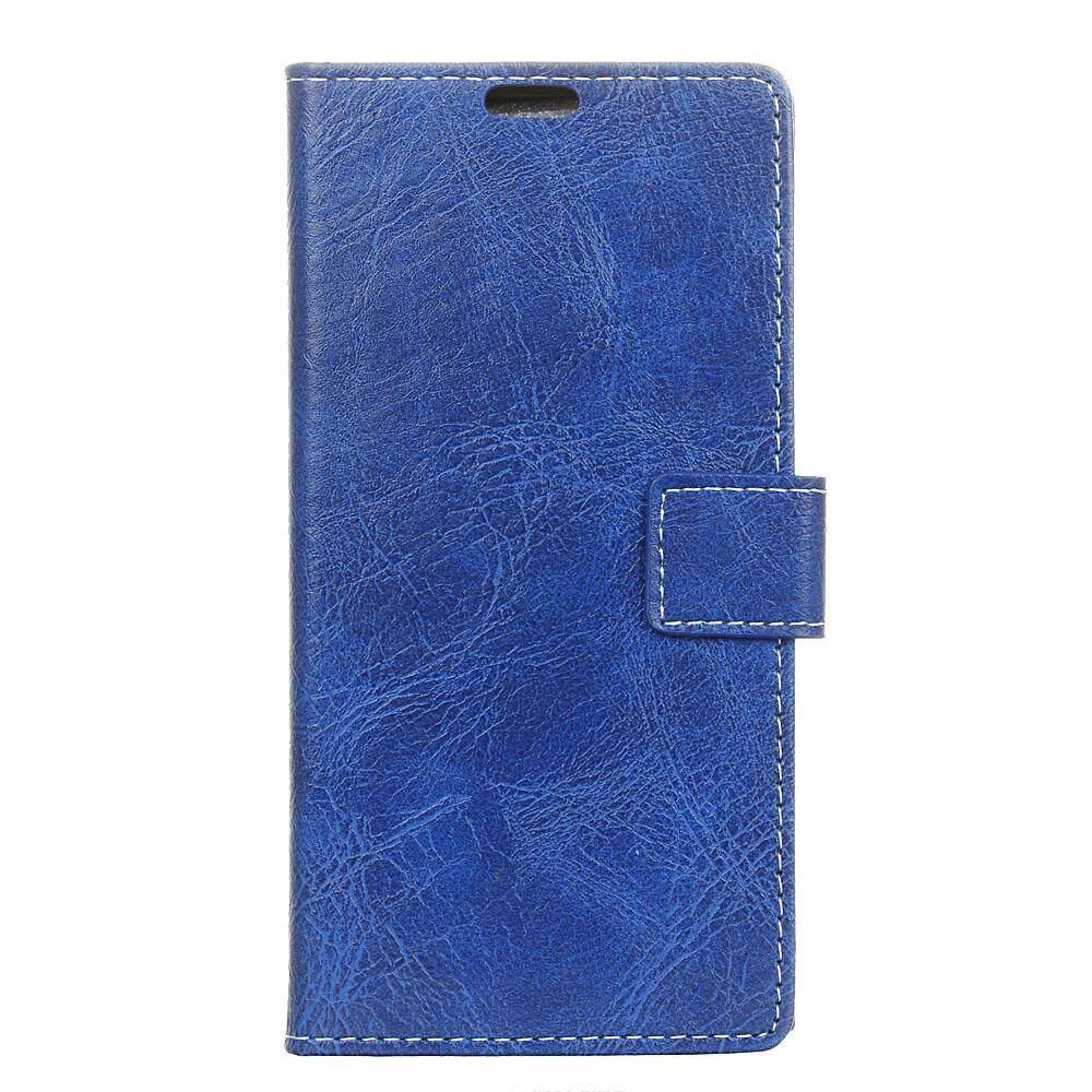 ขาย ซื้อ Moonmini For Asus Zenfone Max Plus M1 Zb570Tl Crazy Horse Pattern Pu Leather Wallet Case Magnetic Flip Stand Cover With Card Slots Photo Frame Intl จีน
