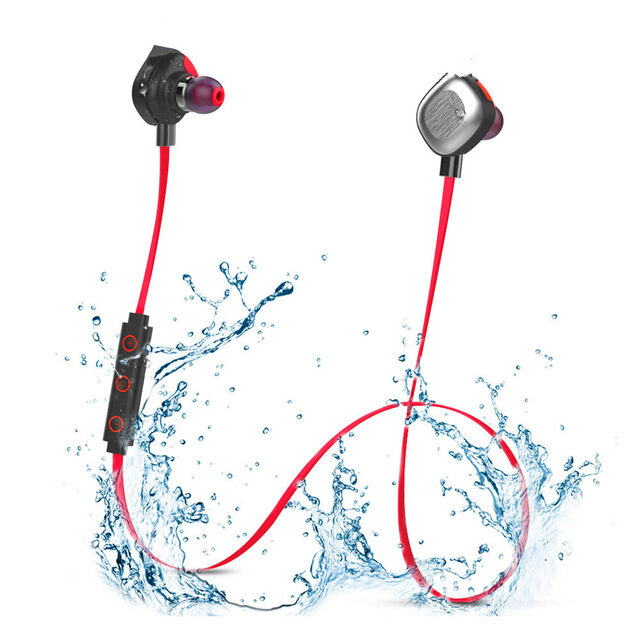 THB 1.015. Morul U5 Plus IPX7 waterproof Sport Bluetooth earphones Stereo Bluetooth Headset BT4.1 Handfree Headphone ...