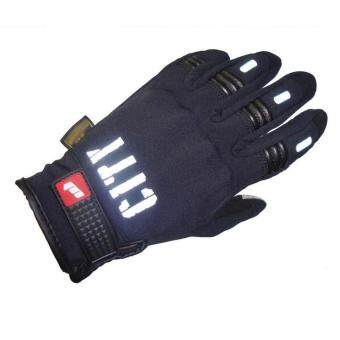 Harga Motorcycle Warm Cold Winter Gloves Sensing Touch Screen MobilePhone(L)