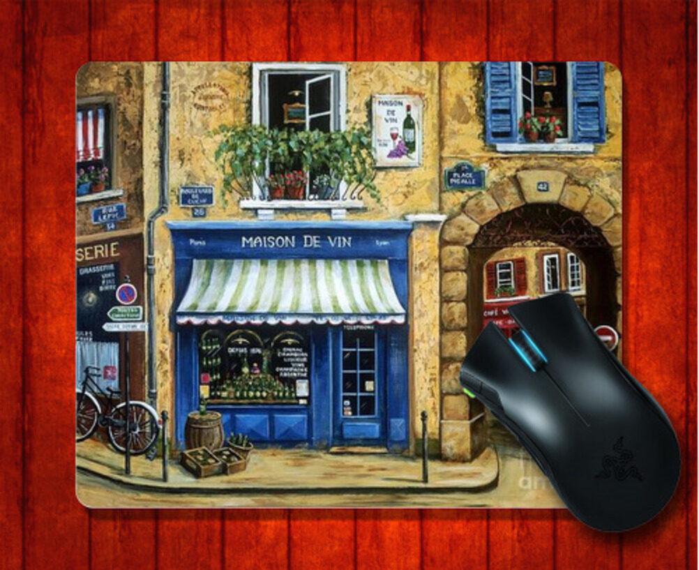 THB 212 MousePad Maison De Vin Architecture Case for Mouse mat 240*200*3mm