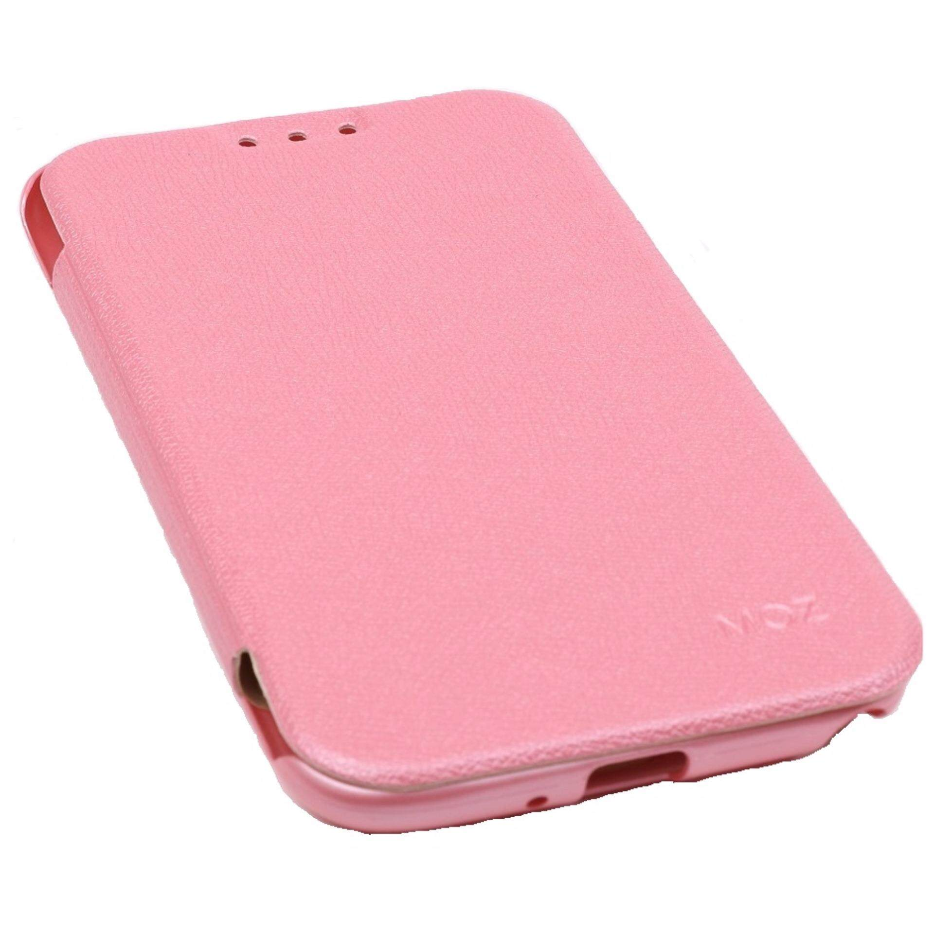 MOZ Flip Cover for Samsung Galaxy Note 2 (Pink)