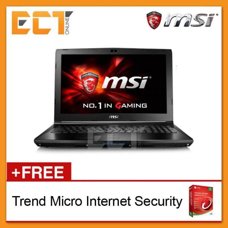 MSI GL62-7QF-1845 15.6 FHD Gaming Notebook (i7-7700HQ,1TB,8GB,GTX960M-2GB,W10Pro) Malaysia