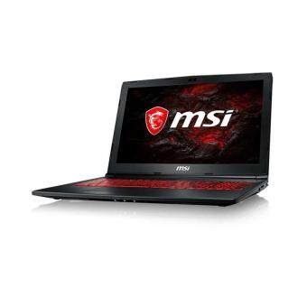 MSI GL62M 7RDX-2605 Gaming Laptop (i7-7700 HQ,1TB,4GB,GTX1050-4G,15.6 FHD,W10) - Black Malaysia