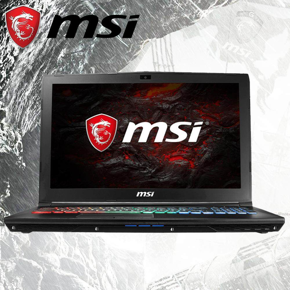 MSI GP62 7RDX 1021XMY LEOPARD (GTX1050 4GB GDDR5) - FREE DOS Malaysia