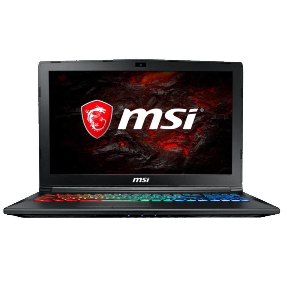 MSI GP62M 7REX-2621 15.6 FHD Gaming Laptop (i7-7700HQ, 8GB, 1TB+128GB, GTX1050Ti 4GB, W10) Malaysia