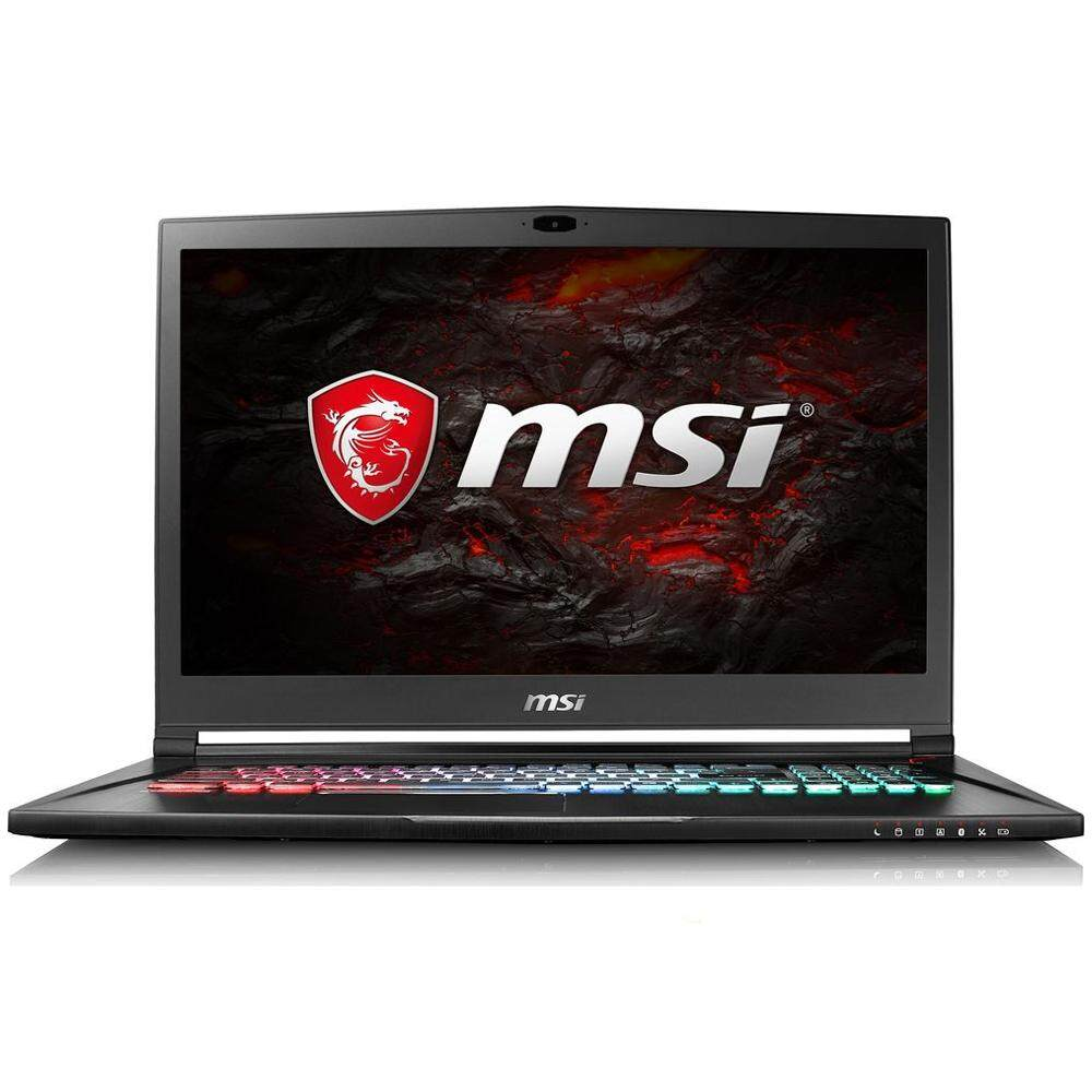 MSI STEALTH PRO GS73VR 7RF-261 17.3 UHD 4K Gaming Laptop (i7-7700HQ, 16GB, 256GB + 1TB, GTX1060 6GB, W10H) Malaysia