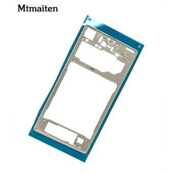 Mtmaiten New Silver middle frame middle Rear housing ReplacementPlate Compatible for Sony Xperia Z1 L39h C6903 - 5