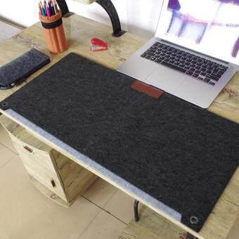 Multi-function Large Size keyboard Felt Mouse Pad Pen Desk MatOrganizer