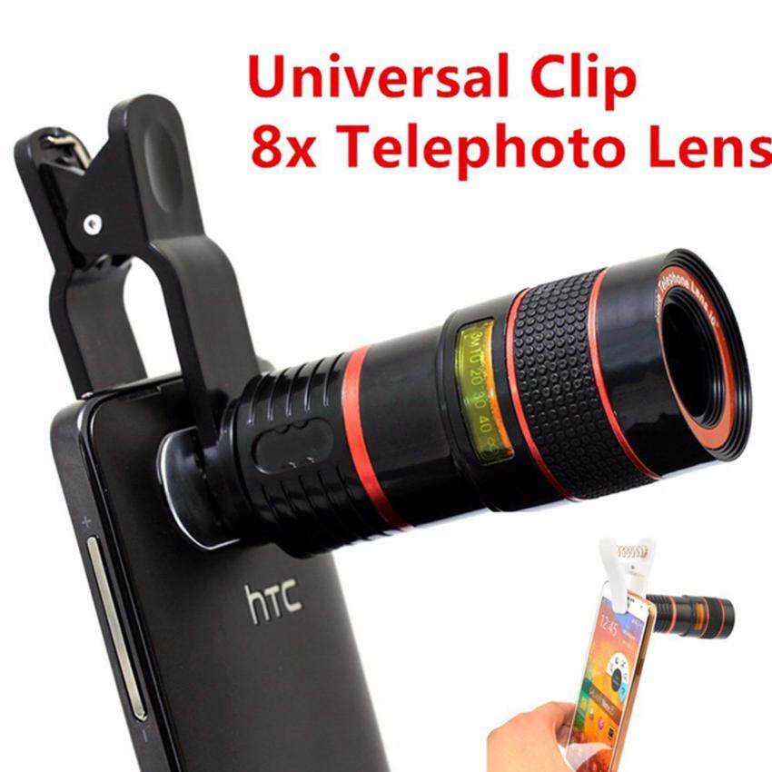 Harga MX Universal 8x Telescope Lens For iPhone/Android Telephone Zoom Lenses Camera Cell Mobile Phone Lens For Smartphone Lenses