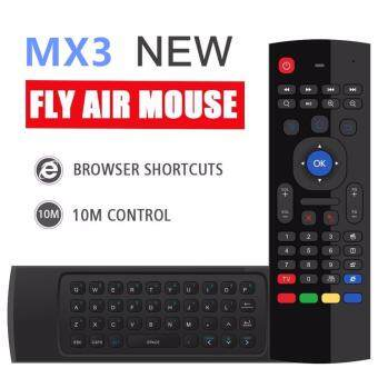 Harga MX3 6-Axis Inertia Sensors Fly Air Mouse with Keyboard