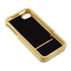 Promo Bambu Alami Kayu Keras Case Belakang Penutup Pelindung To Apple Iphone 4 4G 4 S Oem Terbaru