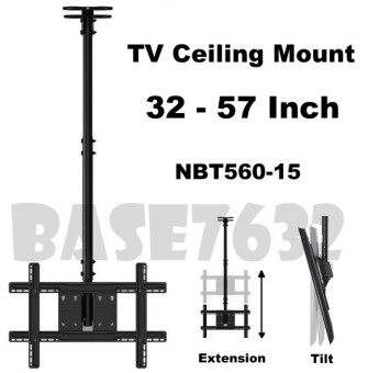 NB NBT560-15 T560-15 32 to 57 Inch LCD TV Wall Ceiling Mount Bracket Holder 1759.1