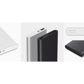 Malaysia Prices [New 2017] Xiaomi Mi Powerbank 10000mah v2 II Power Bank version 2 Fast Charging Original Imported