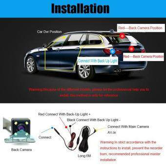 New 4.3 Inch Full HD 1080P Dual Lens Car DVR Rearview Mirror Camera G-Sensor Night Vison Video Recorder Registor Dash Cam