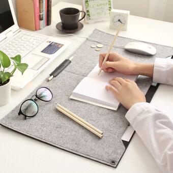 Detail Gambar Produk New Felt Sleeve Laptop Desk Mat Fashion Durable Modern Table FeltOffice Desk Mat Mouse Pad Pen Holder Produk Terbaru