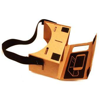 Harga New Google Cardboard Valencia Quality VR 3D Virtual Reality Glasses