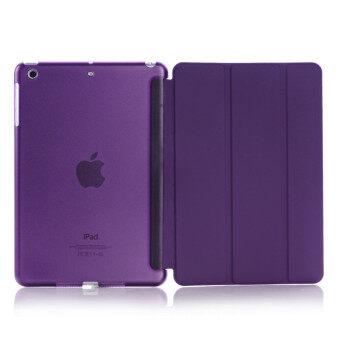 New iPad 2017 iPad 9.7 inch / Ipad Air (ipad 5) case, Welink Ultra Slim Smart Cover PU Leather Case for Ipad Air (ipad 5) / New iPad 2017 iPad 9.7 inch (Purple)