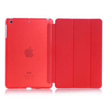 New iPad 2017 iPad 9.7 inch / Ipad Air (ipad 5) case, Welink Ultra Slim Smart Cover PU Leather Case for Ipad Air (ipad 5) / New iPad 2017 iPad 9.7 inch (Red)