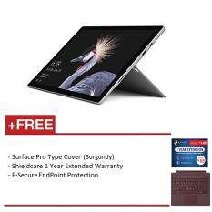 NEW Microsoft Surface Pro - Core i5 8G/256GB Free Surface Pro Type Cover (Burgundy) + Shieldcare 1 Year Extended Warranty + F-Secure EndPoint Protection Malaysia
