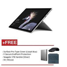 NEW Microsoft Surface Pro - Core i7 16G/512GB Free Surface Pro Type Cover (Cobalt Blue) + Arc Mouse (Black) + F-Secure EndPoint Protection + Seagate 1TB Hardisk Malaysia