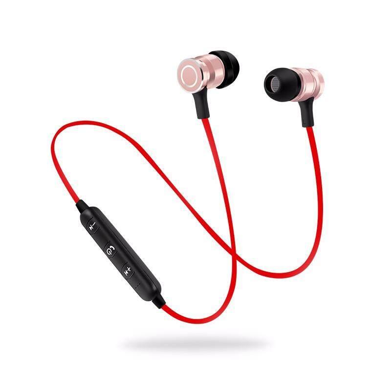 Baru S6-6 Bluetooth Headset Olahraga Nirkabel Menjalankan Headphone & Mikrofon untuk .
