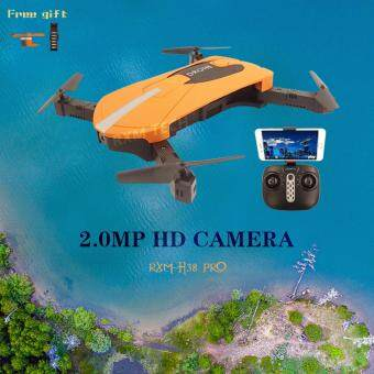Harga New Selfie Drone fpv mini quadcopter with wifi camera foldable pocket dron rc helicopter phone remote control vs jjrc h37 jxd523