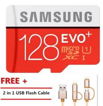 Newest 128G Memory Card Micro SD SDHC SDXC TF80M Grade EVO+ Class10 Micro SD C10 UHS TF Trans Flash Microsd+Free 2 in 1 USB FlashCable
