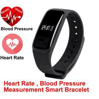 Harga Newest M8 Smart Bracelet Blood Pressure Heart Rate Smart BandCall/SMS Reminder Bluetooth Camera for ios Android Waterproof IP67