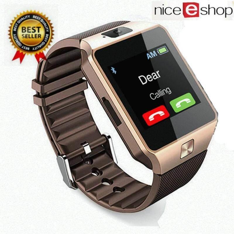 niceEshop DZ09 Hight Quality Fashion Multi-Functional Casual Wrist Watch,Gold Malaysia