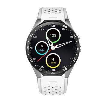 niceEshop KW88 3G WIFI Smartwatch Cell Phone All-in-One BluetoothSmart Watch Android 5.1 SIM Card With GPS,Camera,Heart RateMonitor,Google Map, Google Play