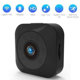 niceEshop Smallest HD Mini Wifi Spy Camera Wide Angle Motion Detection Night Vision Security Video Camera For Nanny Baby Monitor