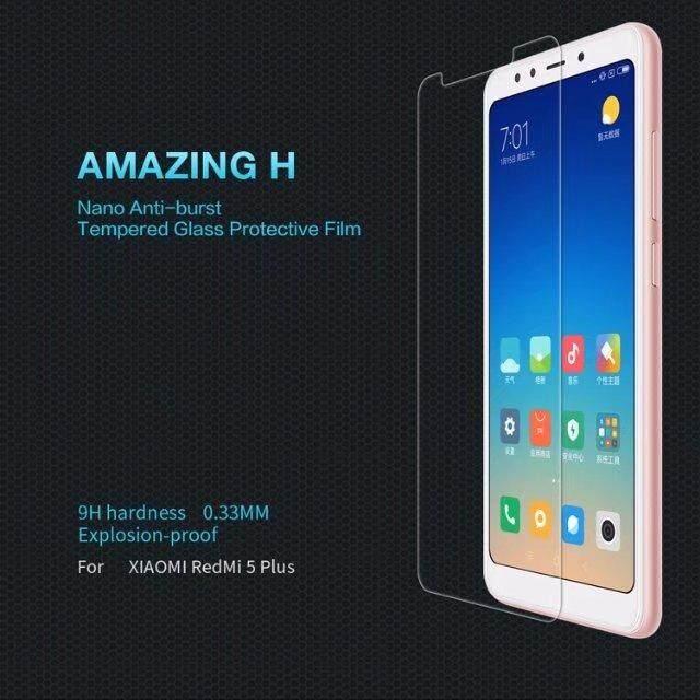 Bán Mua Trực Tuyến Nillkin Amazing Chống Nổ Kinh Cường Lực Bảo Vệ Man Hinh Trong Cho Xiaomi Redmi 5 Plus H Quốc Tế